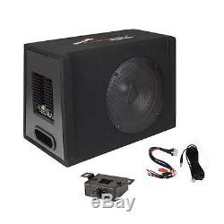 10 Car Audio Power Amp + Sub Woofer Active BASS BOX Loaded Powered Subwoofer