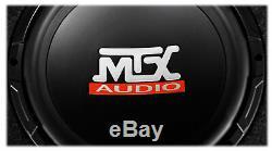 10 Powered Loaded Subwoofer+4 Polk Speakers for 2007-16 JEEP WRANGLER JK 4-DOOR