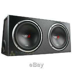 12 Dual Loaded Subwoofer Enclosure With Subs 1600W Max 2 Ohm Cerwin Vega XE12DV