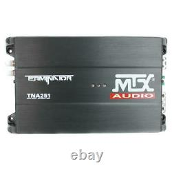12 in. 1200-watt dual loaded car subwoofer audio with sub box plus amplifier