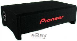 1200 Watt Shallow Mount 10-Inch Pre-Loaded Subwoofer Box Enclosure Car Audio
