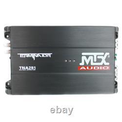 1200Watt Dual Loaded Amplifier Enclosure Car Subwoofer WirelessRemote 2.0Channel