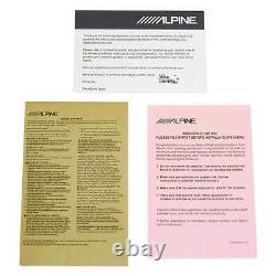 (2) Alpine R-SB10V Loaded 10 750w R-W10D4 Subwoofers+Ported Sub Enclosure Box