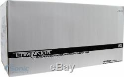 2 MTX Audio TNE212D 12 1200W Car Audio Dual Loaded Subwoofer Box Enclosure