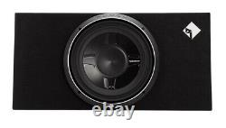 2 Rockford Fosgate P3S-1X12 12 1600W Shallow Loaded Subwoofers Sub Enclosures