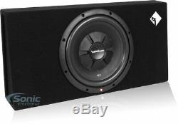 2 Rockford Fosgate Prime 12 500W Shallow Loaded Car Subwoofer Sub Enclosure