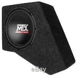 2007-2016 JEEP WRANGLER JK 4-DOOR Loaded 10 MTX Subwoofer In Sub Box+Amplifier