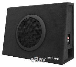 ALPINE SBT-S10V 10 Ported Car/Truck Loaded 2-Ohm Subwoofer in Sub Enclosure Box