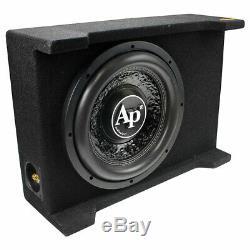 AUDIOPIPE APSB-SP12BDF Audiopipe 12 Loaded Sealed Enclosure 800 Watts Shallo