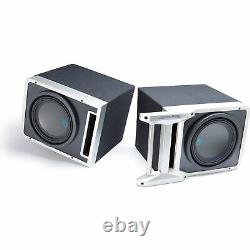 Alpine Pair of R-SB10V Pre-Loaded 10 Sub Enclosures, with KTX-H10 Linking kit