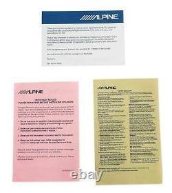 Alpine S-SB10V Loaded 10 600w S-W10D4 Subwoofer+Ported Sub Enclosure Box