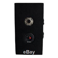 AudioPipe Chuchero Dual Loaded 10 Speaker Sub Box Enclosure with Speakon Cable