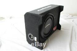 Audiobahn 10 1200W Car Truck Shallow Slim Loaded Boom Bass Audio Subwoofer
