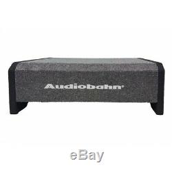 Audiobahn 12 1500W Car Truck Shallow Slim Loaded Boom Bass box Subwoofer