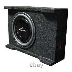 Audiopipe Apsb-10Bdf Single 10 Shallow Mount Downfire Loaded Enclosure 400