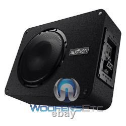 Audison Apbx10as2 Loaded Amplifier Enclosure Box 10 800w Subwoofer Bass Speaker