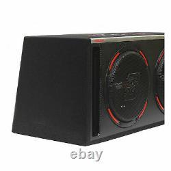 CERWIN VEGA H6E12DV DUAL 12 Loaded Vented Box Subwoofer Bass Speakers