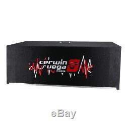 Cerwin Vega H6E10DV 10 Car Stereo Dual Subwoofers Loaded Sub Enclosure New