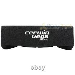 Cerwin Vega Loaded 10 Subwoofer Enclosure Sealed 4 Ohm 1000W Max H7SE10 Single