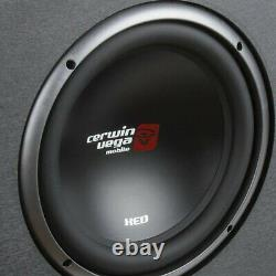 Cerwin-Vega Mobile XE10DV XED Series Dual 10 Subwoofers in Loaded Enclosure