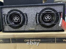 DB Drive WDX8-2BC Pre Loaded 2-8 G2 Subwoofers. 750 Rms/ 1500 Watts Max