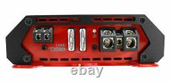 DS18 LSE-212A 12 1000W 4 Ohm Dual Loaded Ported Enclosure with Amplifier/Amp kit
