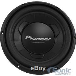 Fits 2004-08 Ford F-150 Single Loaded Subwoofer Enclosure Box Pioneer TS-W106M