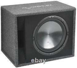 Fits Chevy Spark 13-17 Harmony Single 12 Loaded Sub Box Enclosure CXA400.1 Amp