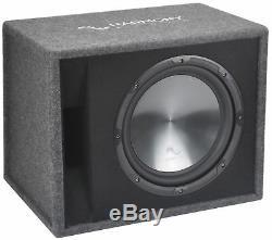 Fits Chrysler PT Cruiser 01-10 Harmony Single 12 Loaded Sub Box CXA400.1 Amp