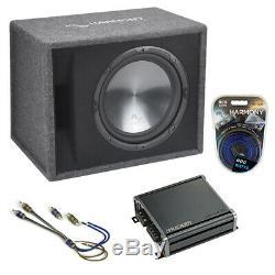 Fits Nissan Juke 11-16 Harmony Single 12 Loaded Sub Box Enclosure & CXA400.1 Amp