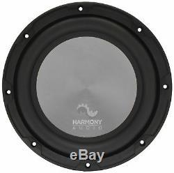 Harmony Audio A102 Triple 10 Subwoofer Loaded 2400 Watt Sub Box Enclosure New