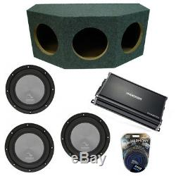 Harmony Audio A122 Triple 12 Subwoofer Loaded 3000 Watt Sub Box & CX1200.1 Amp