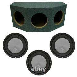 Harmony Audio A122 Triple 12 Subwoofer Loaded 3000 Watt Sub Box Enclosure New