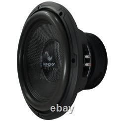 Harmony Audio HA-C122 Competition Loaded 12 Sub 2200W Slot Vented Sub Box
