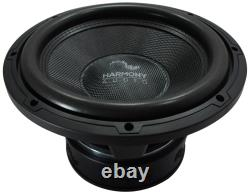 Harmony Audio HA-C124 Competition Loaded 12 Sub 2200W Slot Vented Sub Box