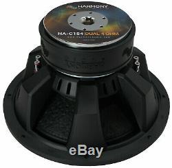 Harmony Audio HA-C154 Competition Loaded 15 Sub 2800W Slot Ported Sub Box