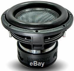 Harmony Audio HA-ML122 Competition Loaded Dual 12 Sub 6000W Vented SPL Sub Box