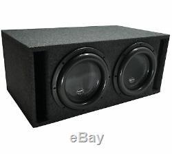 Harmony Audio HA-ML151 Competition Loaded Dual 15 Sub 6400W Vented SPL Sub Box