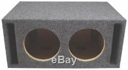 Harmony Audio HA-ML151 Loaded Dual 15 Sub 6400W Vented SPL Sub Box & CXA1800.1