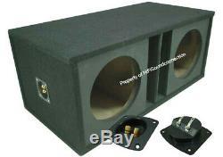Harmony Audio HA-ML152 Competition Loaded Dual 15 Sub 6400W Ported SPL Sub Box