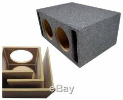 Harmony Audio HA-ML152 Competition Loaded Dual 15 Sub 6400W Vented SPL Sub Box