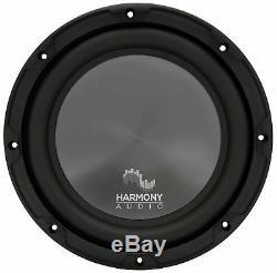 Harmony Audio R104 Triple 10 Subwoofer Loaded 1500 Watt Sub Box Enclosure New