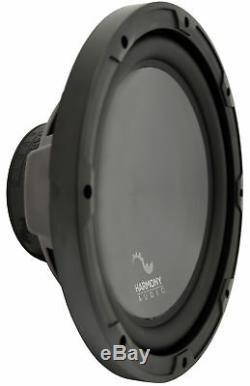 Harmony Audio R124 Triple 12 Subwoofer Loaded 1800 Watt Sub Box Enclosure New