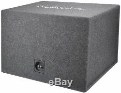 Harmony Audio Single 15 Loaded Sub Box Vented Enclosure & CXA600.1 Amp Package