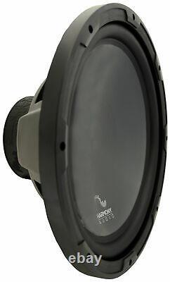 Harmony HA-R154 Custom 15 Loaded Sub Box with Kicker 44KXA8001 Amp & Wire Kit