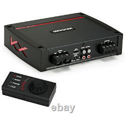 Harmony HA-R154 Rear Fire 15 Loaded Sub Box with Kicker 44KXA8001 Amp & Wire Kit