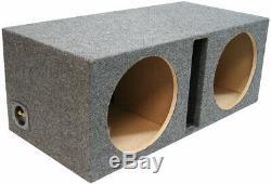 Harmony HA-R154 Vented 15 Loaded Sub Box with Kicker 44KXA12001 Amp & Install Kit