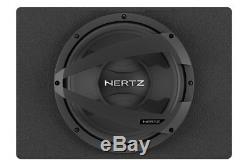 Hertz Dbx25.3 10 150w Rms Car Subwoofer Loaded Enclosure Box