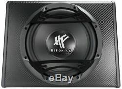 Hifonics ZS112AZEUS Series 600W 12 Powered Loaded Car Audio Subwoofer Enclosure