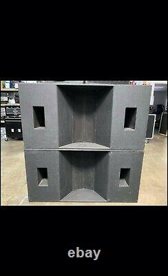 JBL 2242H Loaded dual bass cabinets Pkg of 8 subs
